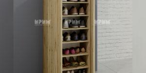 Шкаф за обувки с две врати